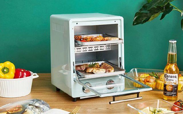 日本TOFFY迷你小型家用复古烤箱