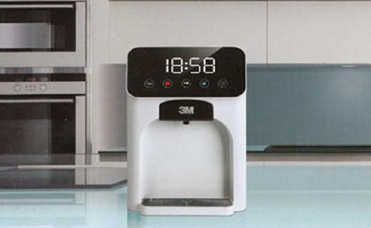 3M HWS-CT-H 温热型饮水机:智能?#26639;?#28903;,一键节能还能净水