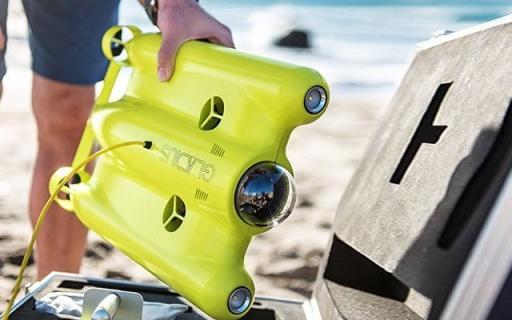 """能拍4K的水下机器人,带着去海边尽是""""好风光"""""""