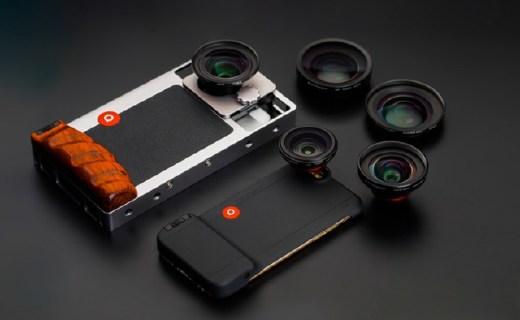 百诺CG手机镜头:可调整镜座易操作,铝合金框架耐冲击