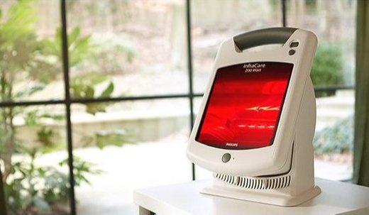 飞利浦红外线按摩仪烤灯:卤素灯技术深入皮肤改善疼痛,机体轻盈挪动不费力