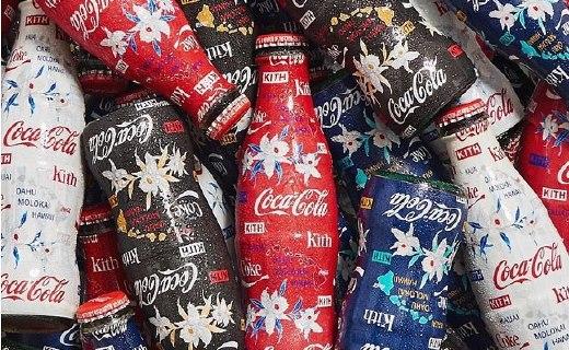 一瓶可樂能有多搶手?Kith X CocaCola聯名第四季發布!