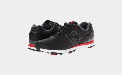 新百伦高尔夫鞋:底部鞋钉设计,提供腿部稳定支撑