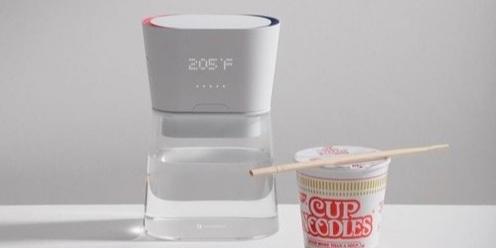 智能水壶亮相CES2019!精确控制水温,再也不担心没水喝