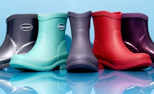 哈瓦那Galochas短雨靴:天然橡膠柔韌耐用,桑巴氣息雨天也時尚