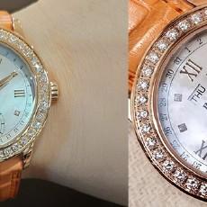 新年就该迎接新的美好!新年礼物手表宝珀月亮美人太美了