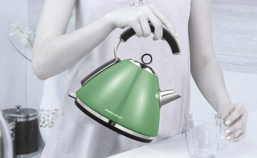 摩飛MR7456A水壺:80周年紀念款,圓滑壺身握感舒適