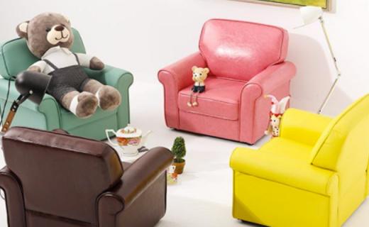 顧家家居簡約沙發:糖果色柔軟舒適,屁股坐下不想起