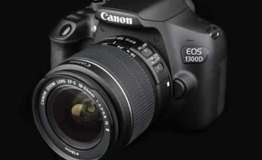 佳能 EOS 1300D單反相機:DIGIC 4+處理器性能出眾,9點對焦系統入門首選