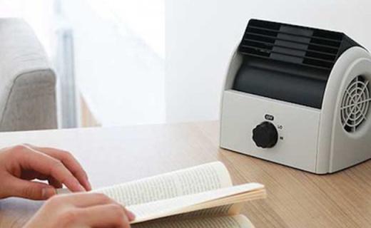 优雅复古造型的无叶风扇,一台抵10台USB风扇