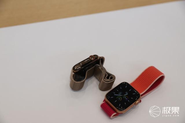 全新AppleWatch上手万博体育max下载:支持常显,续航不减,这个配色亮爆了