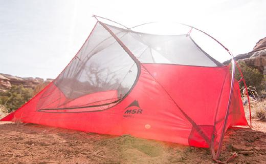 1.25kg轻量级帐篷,透气通风还防水