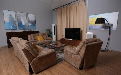 夫妻改造躍層大客廳,軟裝與家電必敗指南