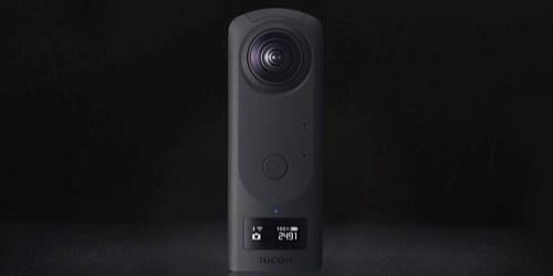 理光发布Theta系列全景相机,功能强大仅重182g