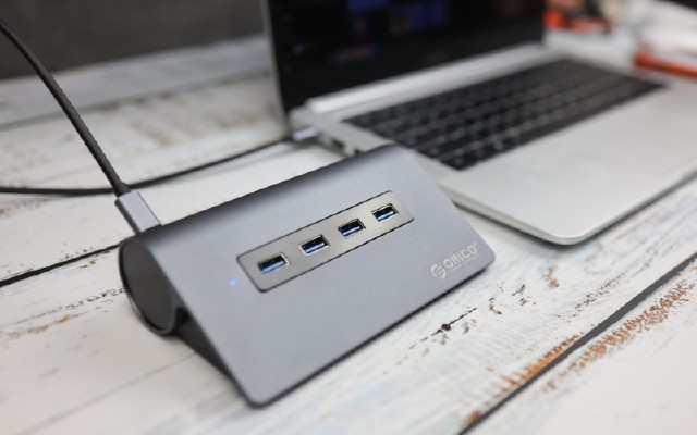 彻底释放笔记本USB接口!ORICO Type-C集线器