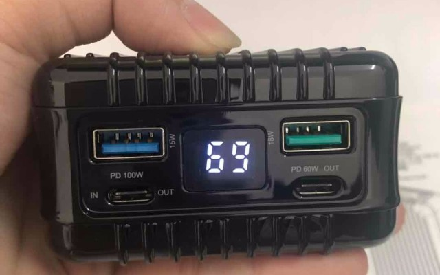 SuperTank100W闪充移动电源试用