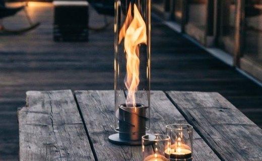 這可能是有史以來最騷氣的壁爐:能5倍擴大火焰?