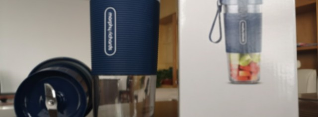 摩飞便携榨汁杯入手出体验
