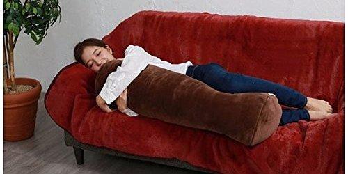 日?#23621;?#29616;懒人过冬神器,发热抱枕温暖整个冬天