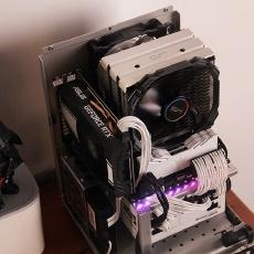 经典Q33 ITX机箱装机小记