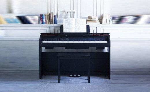 卡西欧PX-860BK数码钢琴:精致外观搭配家居,真实钢琴音色触感
