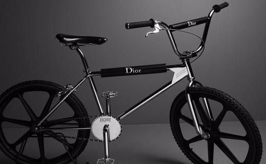 Dior Homme推出跨界單品自行車,設計時尚典雅