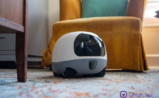 别让你家二哈拆家了,VAVA的宠物机器人,陪伴宠物神器!