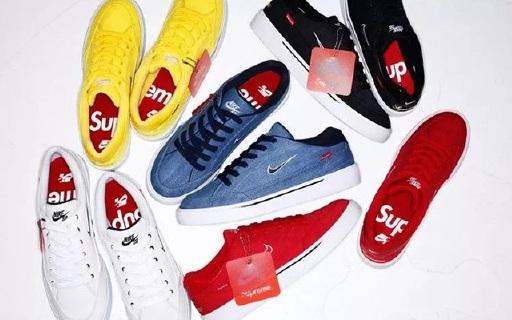 Supreme又來圈錢了!耐克聯名款板鞋發布