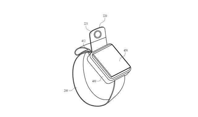 「新东西」苹果为智能手表申请新专利:表带加入摄像头,或将会替代手机