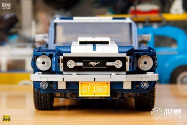 史上最强乐高创意车模!精准细节还原设计,多种配件随心改造