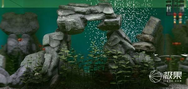 一键摸鱼!鱼缸模拟游戏《Biotope》上线