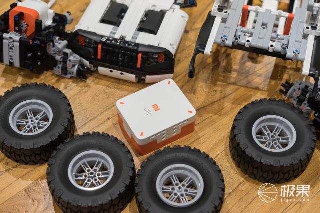 1500个零件的智能积木越野车,小米这款产品到底有多有趣?