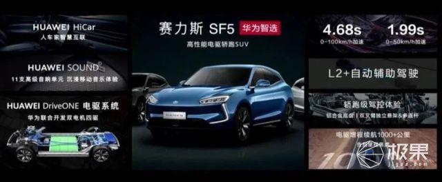 华为真的卖车了!新车一箱油居然能从北京到上海~
