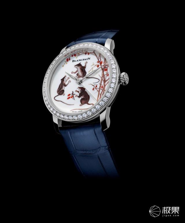 宝珀再推新品首款古瓷工艺腕表计时2020