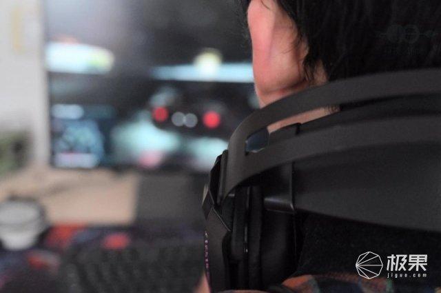 佩戴舒适,还有RGB灯效,用雷柏VH520耳机玩游戏足够了