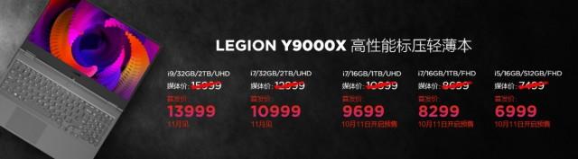 聯想(Lenovo)Y9000X筆記本