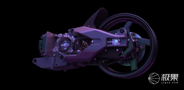 中國造出「超跑級」電動兩輪跑車!全身黑科技,最高時速125km/h...