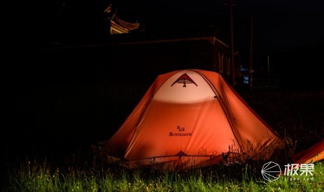入门帐篷新选择——黑鹿丘陵四季帐篷体验