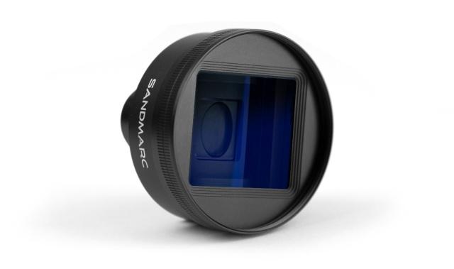 「新东西」用iPhone拍出大片感,SANDMARC推出变形镜头