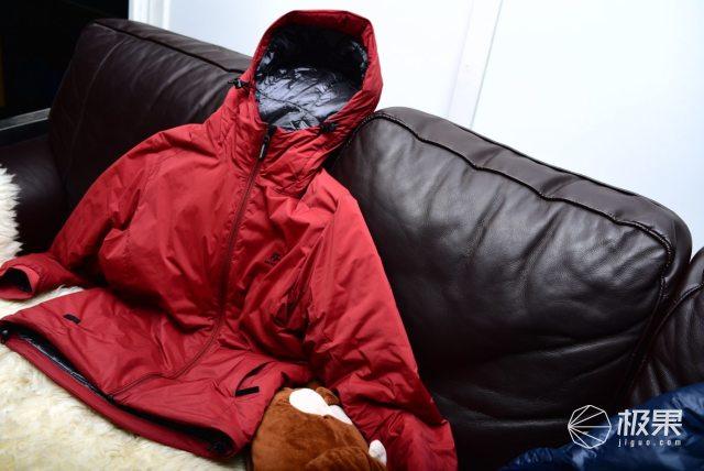 户外通勤皆适宜|穿越风暴超轻棉服试穿分享