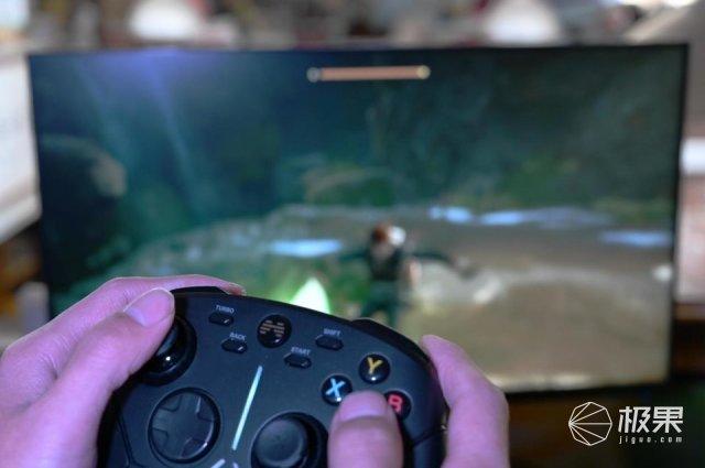 角度力度都能调,操作更顺手,北通阿修罗3游戏手柄体验