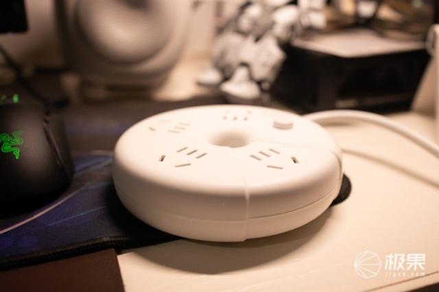 插线板也有高颜值,这个长得像甜甜圈的东西居然如此设计!
