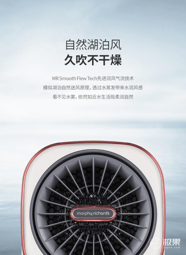 摩飞(MorphyRichards)MR2020摩飞亲肤冷暖风机
