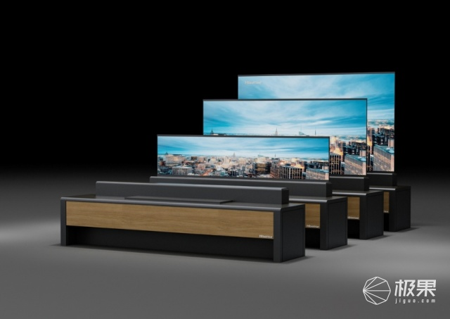 「CES2020」海信发布卷帘门激光电视!升降过分神奇,原来这才是柔性屏正确打开方式