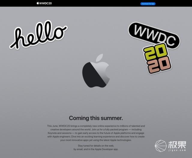 苹果取消线下活动:WWDC2020将改为今年6月线上举办
