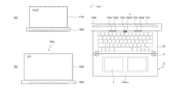 种草了!LG拿下卷轴屏笔记本专利,13寸屏秒变17寸!