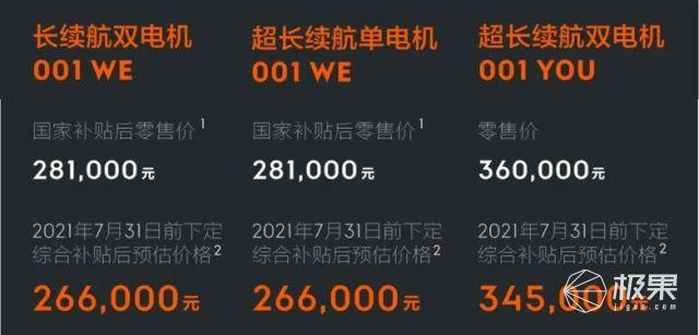 上海车展体验「国产帕梅」极氪001:高性能+豪华内饰,26.6万元起