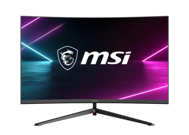 「新东西」RGB还不够!微星推出全新电竞显示器,自带投影Logoo