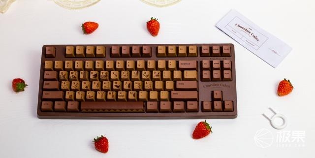 像极了恋爱的味道,黑爵巧克力有线机械键盘轻体验