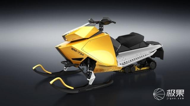 北极星携手零号推出全电动雪地摩托车!预计2021年底正式上市